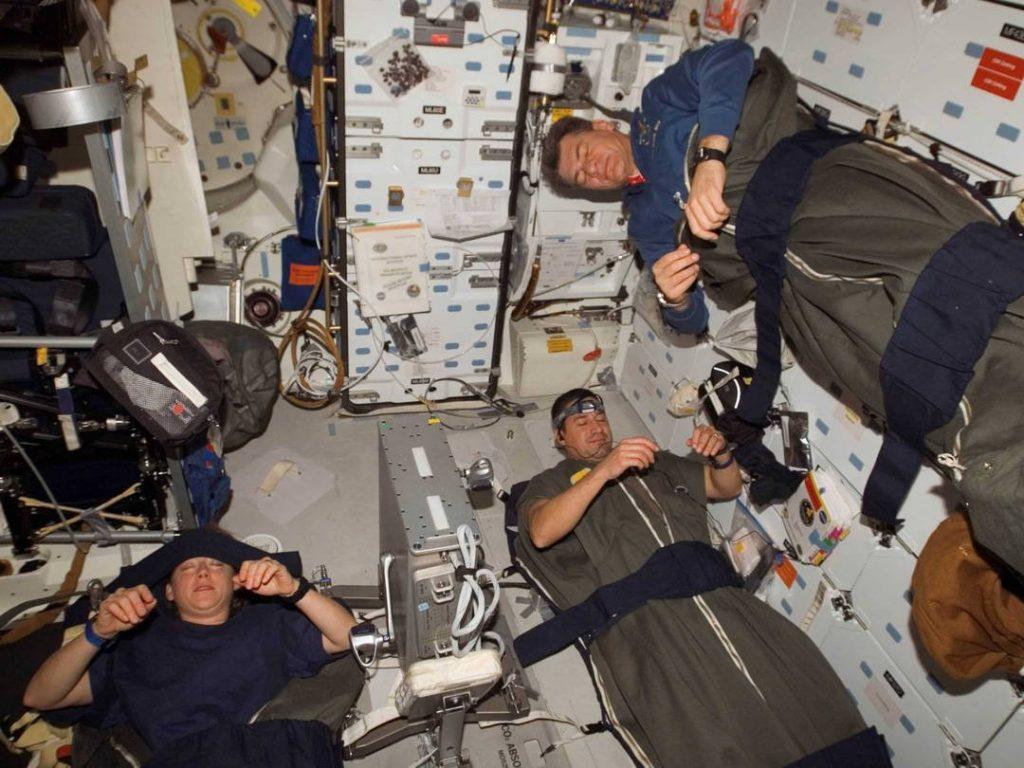 Космонавты редко видят сны на орбите 1
