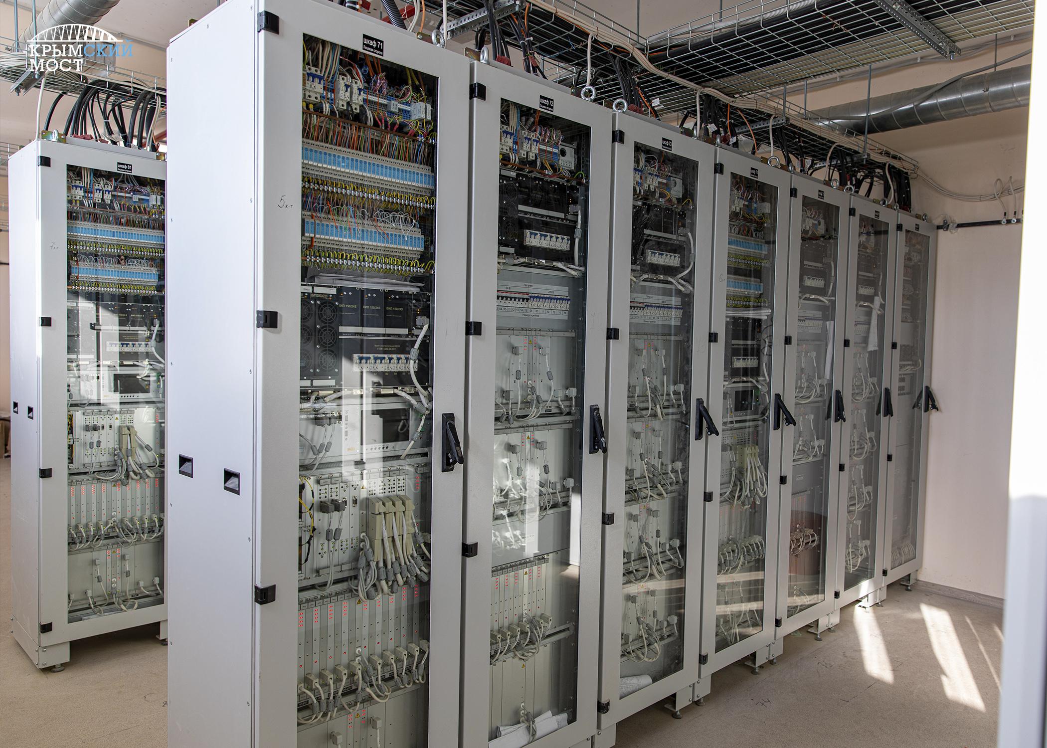 Движение поездов по Крымскому мосту будет контролировать электроника 1