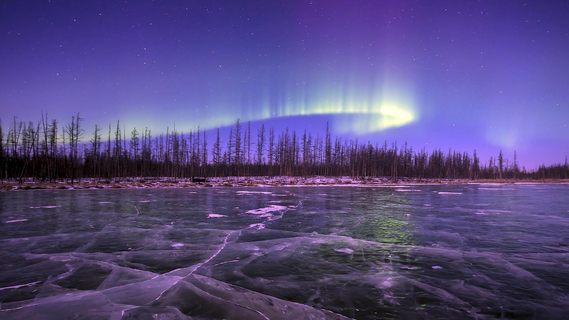 Где лучше всего любоваться полярным сиянием? 2