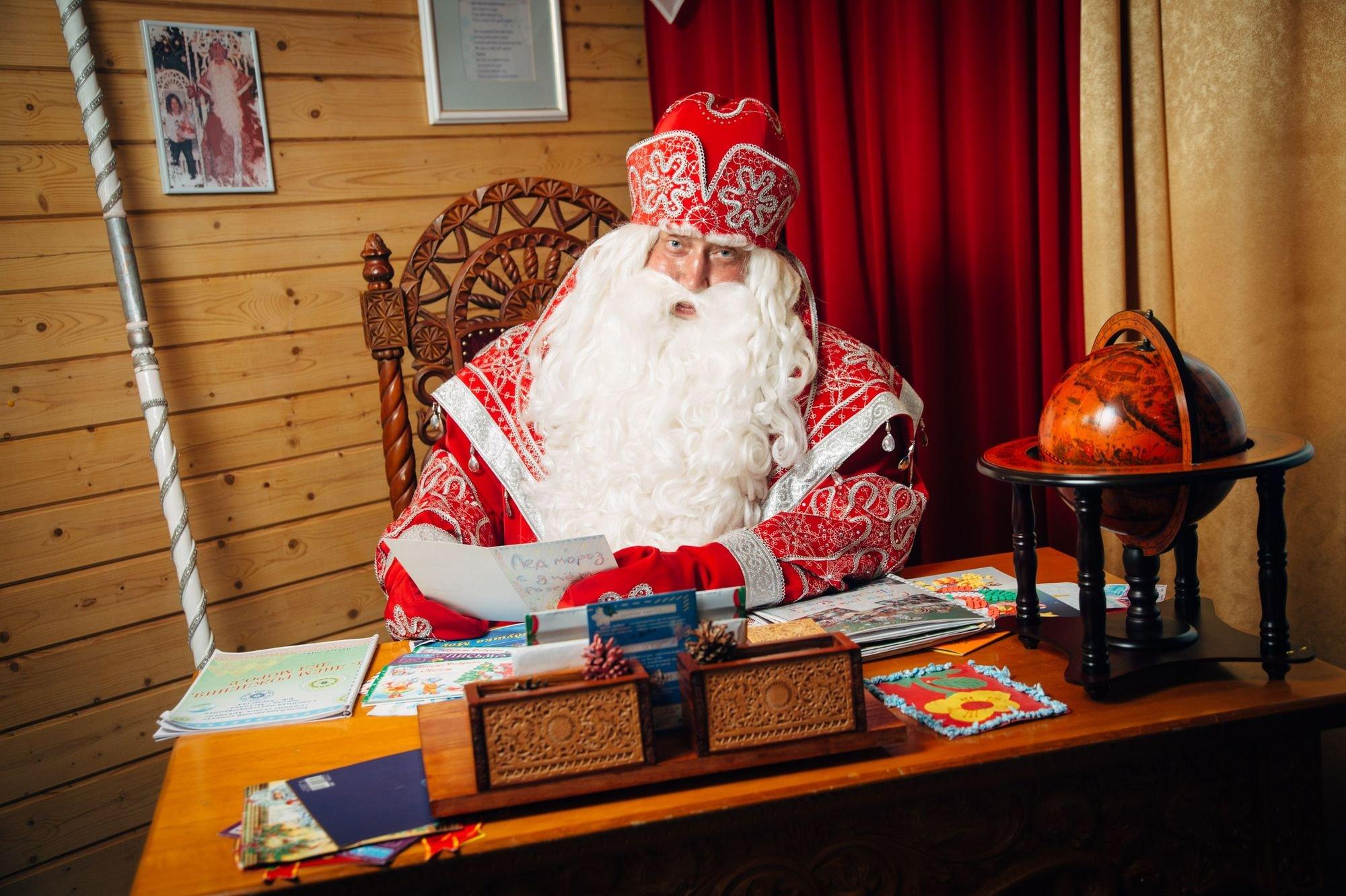 Что просят у Деда Мороза? 8