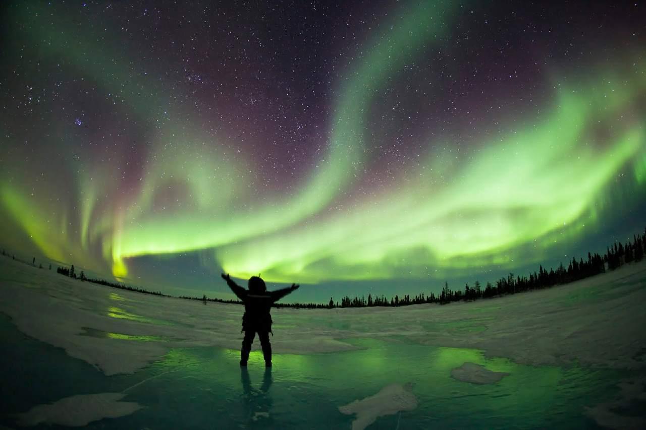 Где лучше всего любоваться полярным сиянием? 1