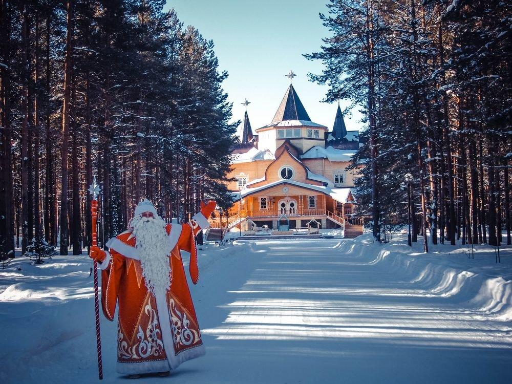 Какое путешествие просят у Деда Мороза? 4