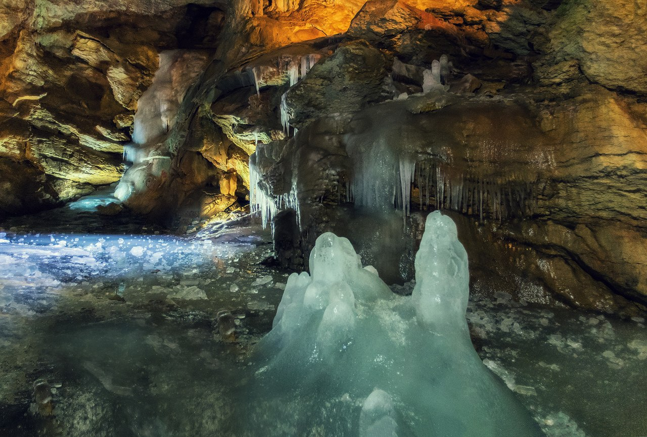 Крымские пещеры популярны у спелеотуристов 2