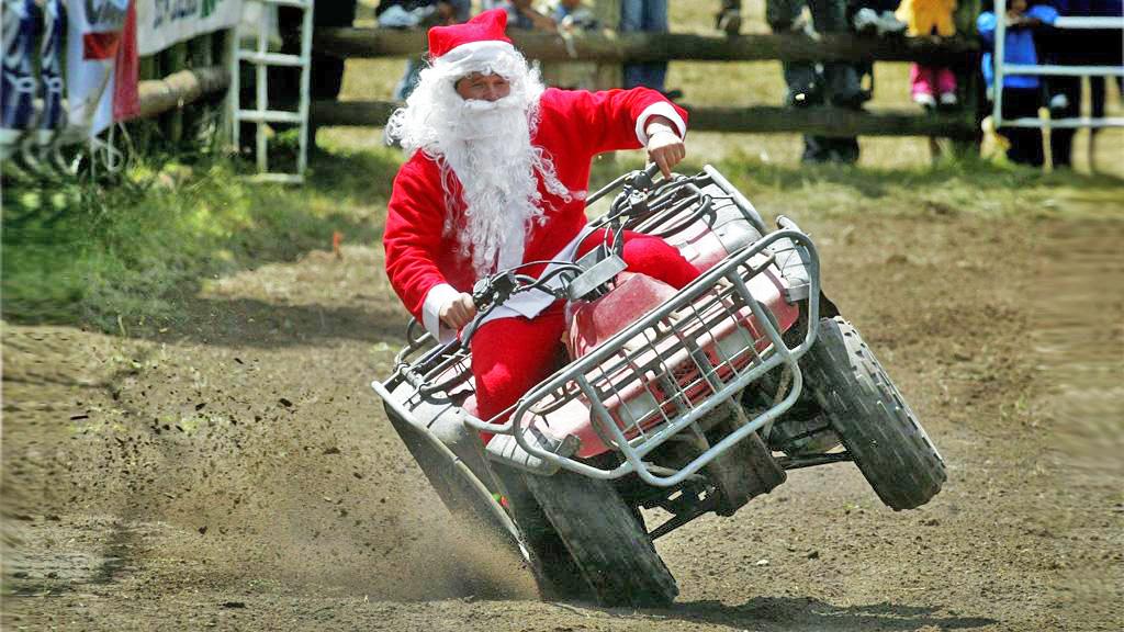Выбираем новый транспорт для Деда Мороза 1