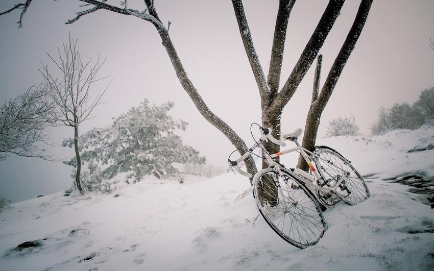 Велотурист-испанец путешествует в лютые морозы 8