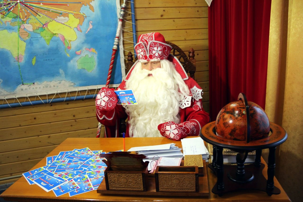 Дед Мороз ждет писем 10