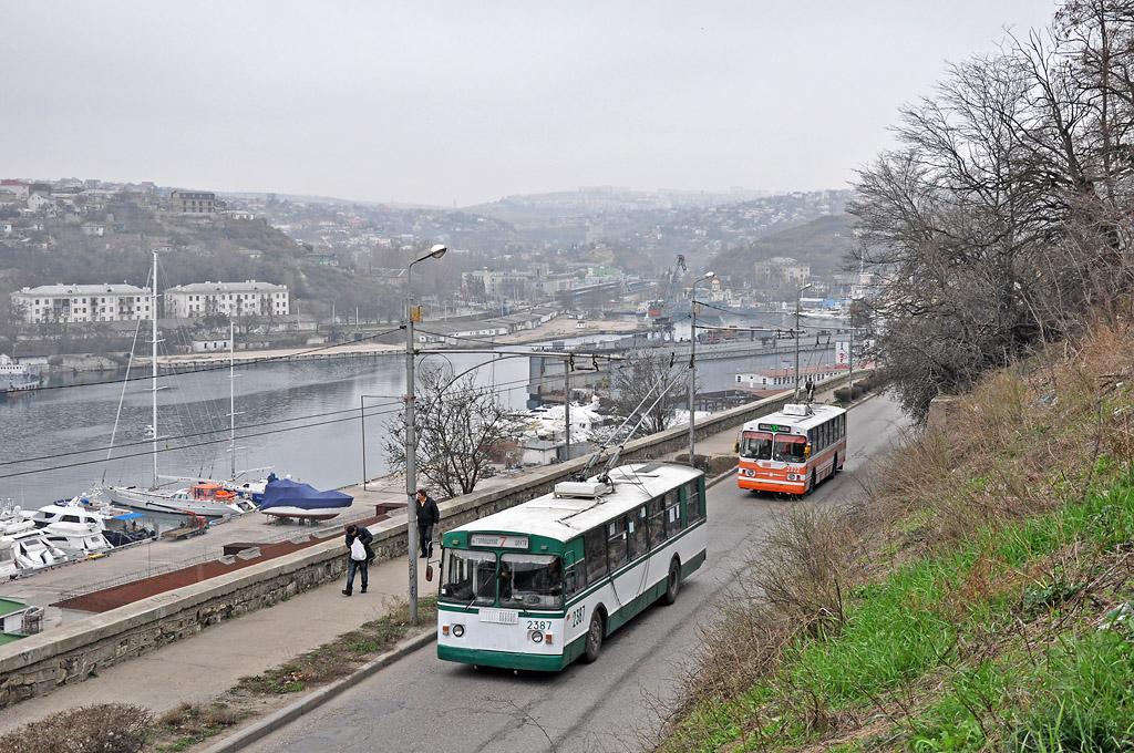 В центре Севастополя изменится схема движения общественного транспорта 1
