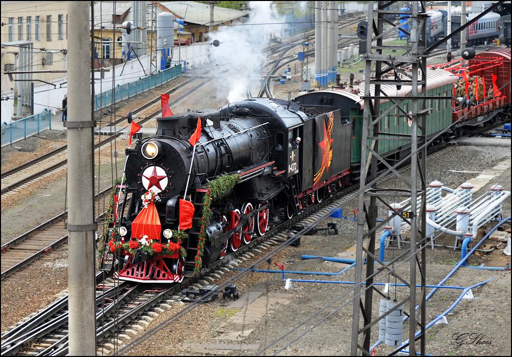 Поезд-музей «Эшелон Победы» прибудет в Севастополь 1