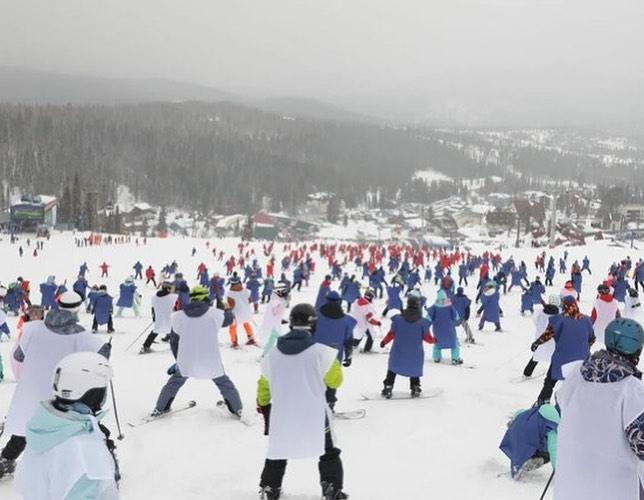 Лыжники в России установили новый рекорд 8