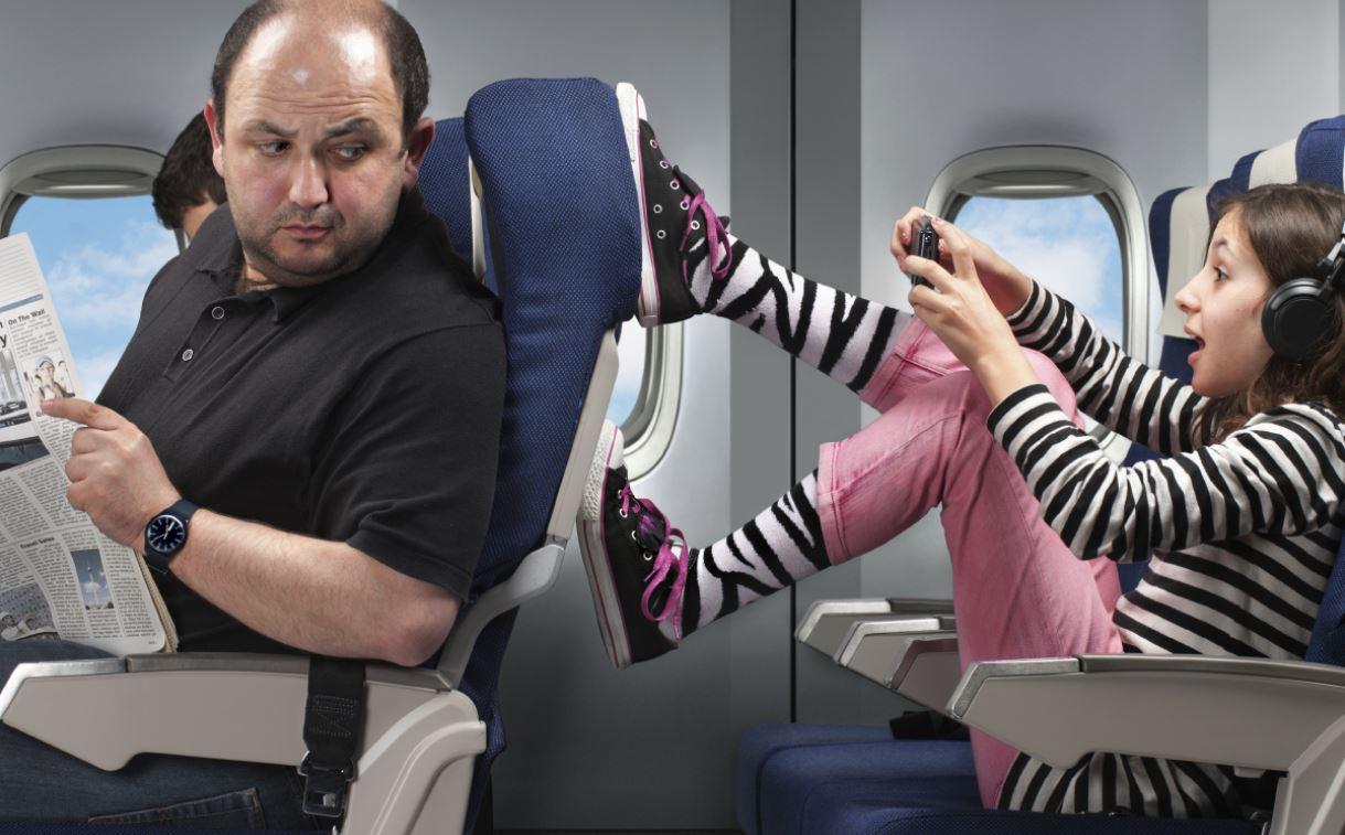 Где самые тихие места в самолете? 10