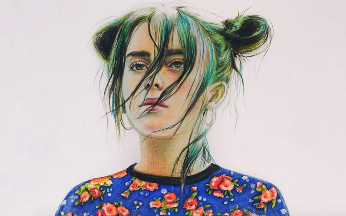 Рисунок подростка из России стал обложкой Vogue 10