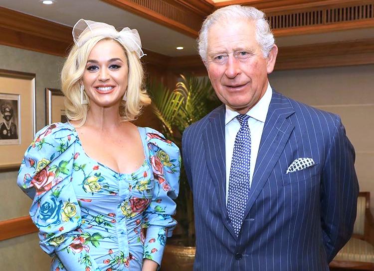 Кэти Перри получила назначение от принца Чарльза 2