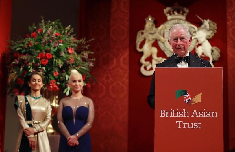 Кэти Перри получила назначение от принца Чарльза 1