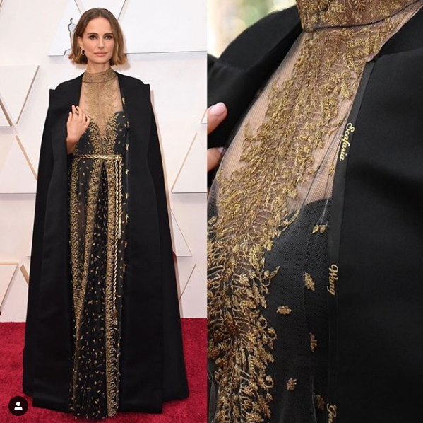 Натали Портман надела платье со смыслом 2