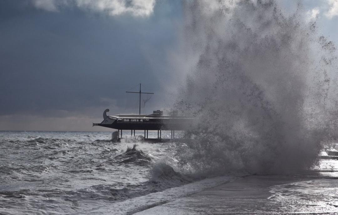 На Крым идет похолодание 1