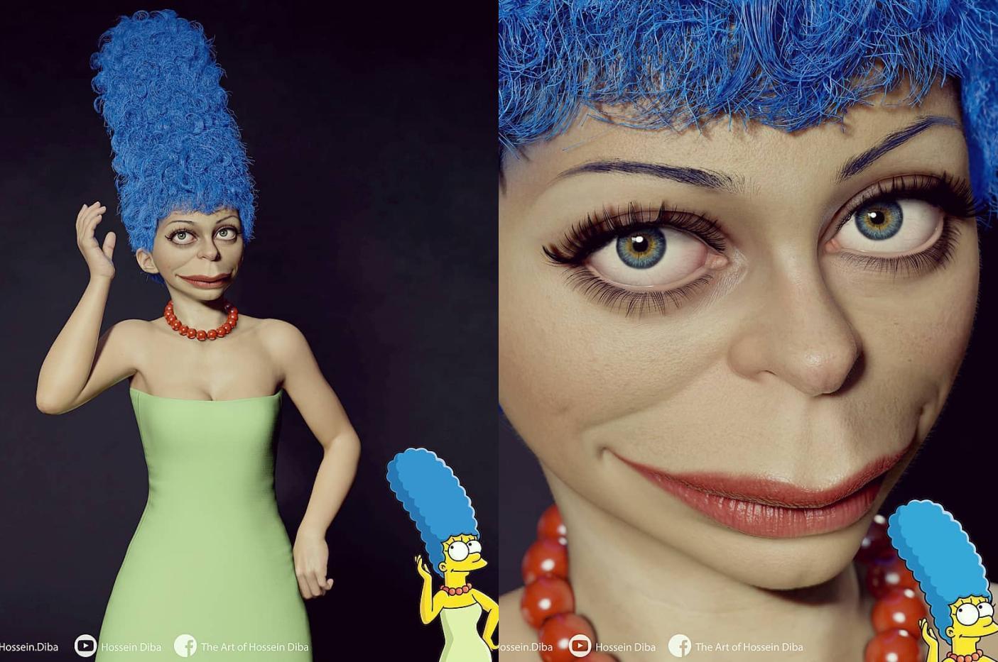 Семью Симпсонов оживили с помощью 3D-моделей 2