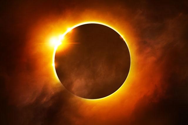 Затмения Луны, Венеры и Солнца в июне 7