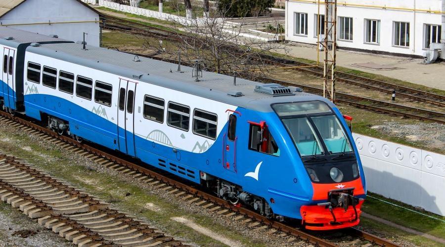 Из Севастополя в Симферополь - на новой электричке 1