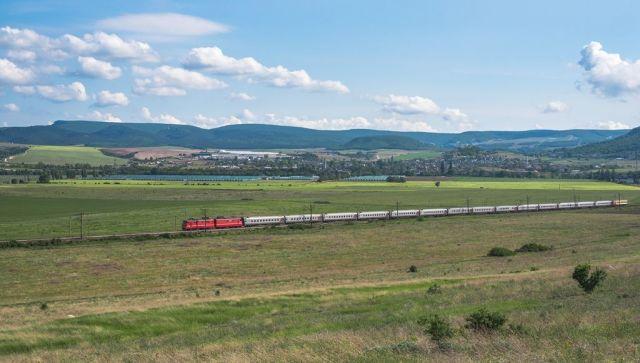 Из Севастополя в Москву и обратно на поезде 8