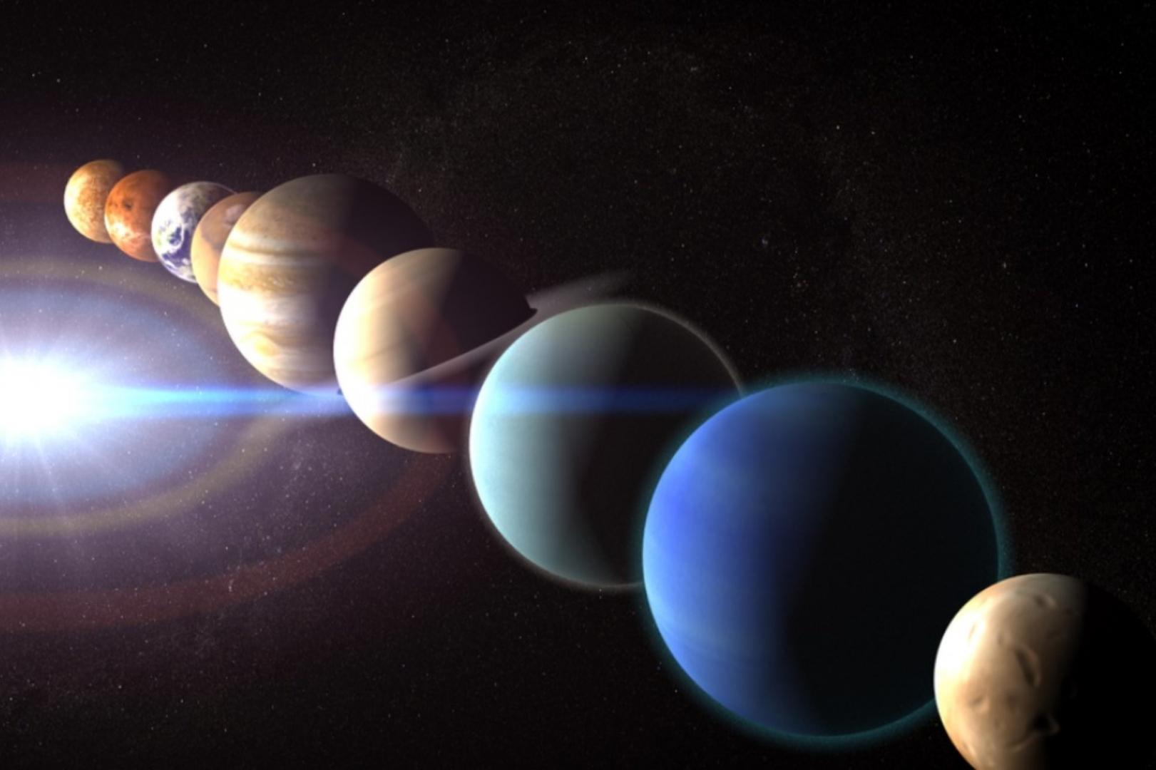 Парад планет в июле 7