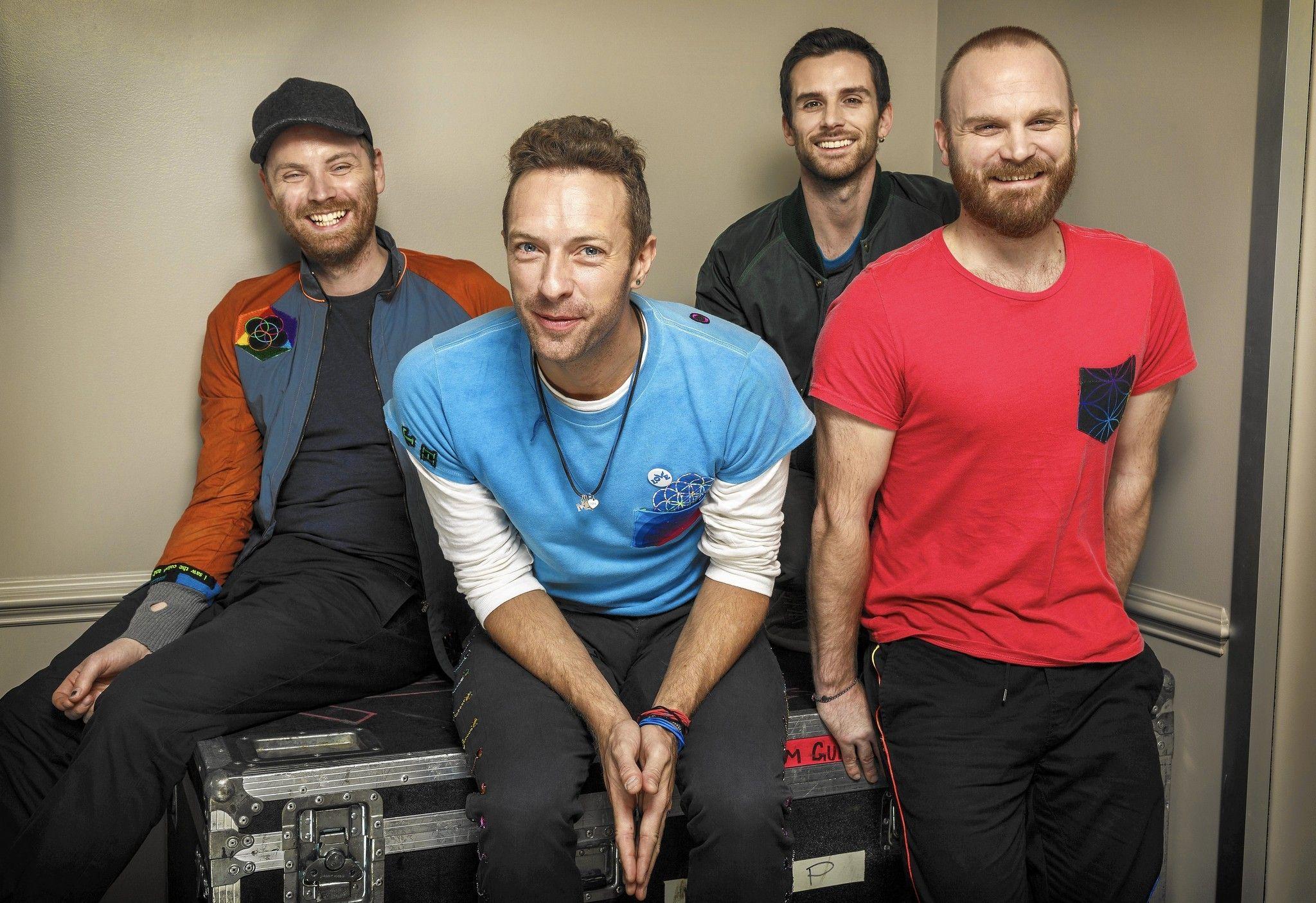 Группа Coldplay празднует 20-летие дебютного альбома 6