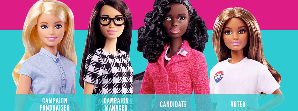 Куклы Барби обучат политике 1