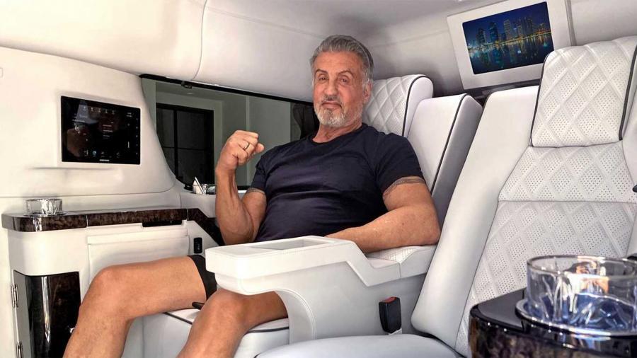 Сильвестр Сталлоне продаёт свой Cadillac 8